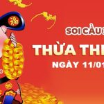 du doan xo so thua thien hue 11/01/2021